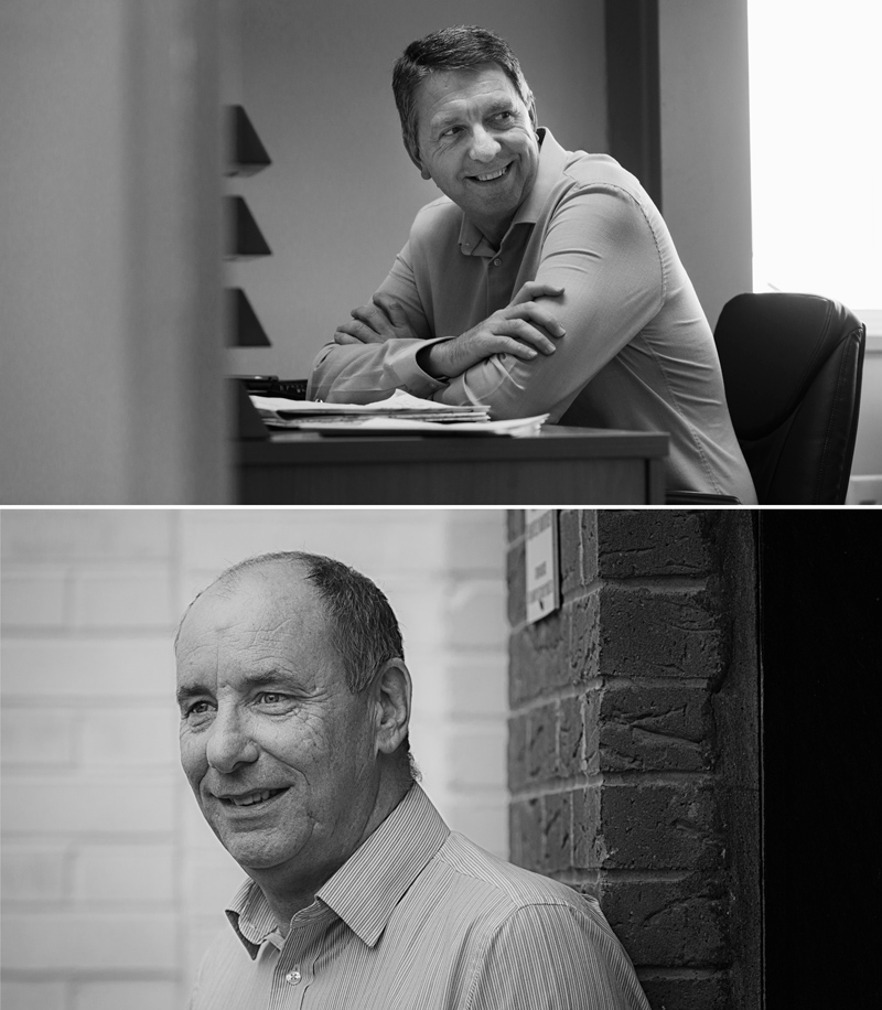 Martin Bradshaw & Steve Kebble